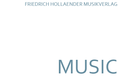 Frederick Hollander Music Logo