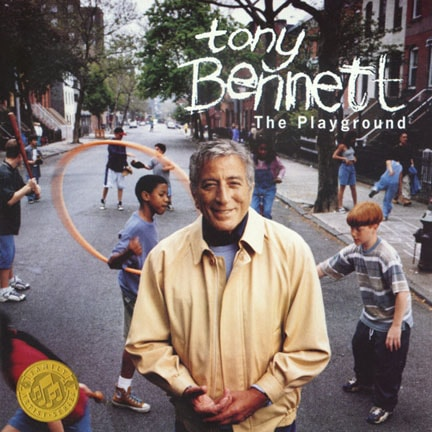 CD cover of 'The Playground' by Tony Bennett