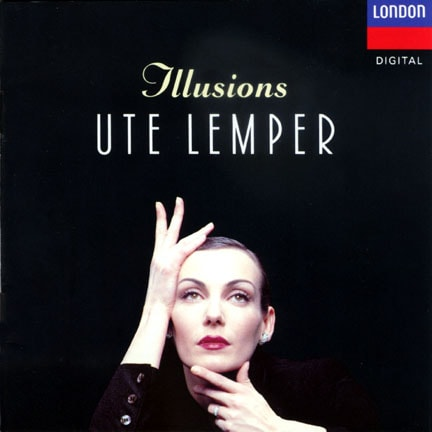 CD cover of 'Illusions' by Ute Lemper