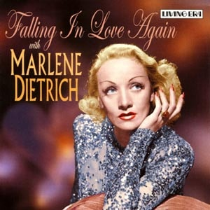 CD cover of Marlene Dietrich - Falling In Love Again