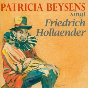 CD cover of Patricia Beysens - PATRICIA BEYSENS singt Friedrich Hollaender