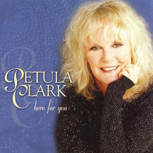 CD cover of Petula Clark - Here For You