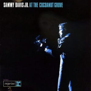 CD cover of Sammy Davis Jr. - At The Cocoanut Grove