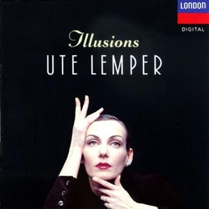 CD cover of Ute Lemper - Illusions