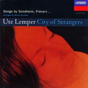 CD cover of Ute Lemper - City Of Strangers
