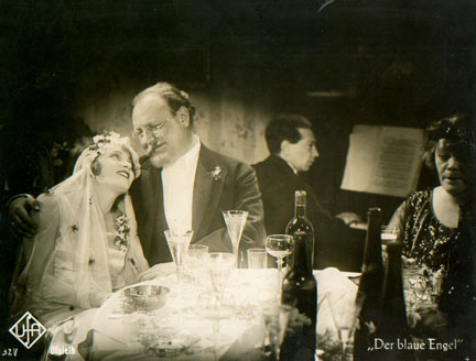 Photo of Frederick Hollander appearing in the Blue Angel as the piano player