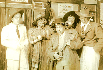 Photo of Franz Waxman, Hedi Schoop, Frederick Hollander and Billy Wilder in Mexico