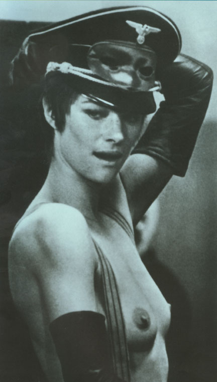 Photo of Charlotte Rampling in the film 'The Night Porter'