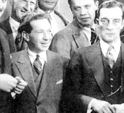 Frederick Hollander and Buster Keaton