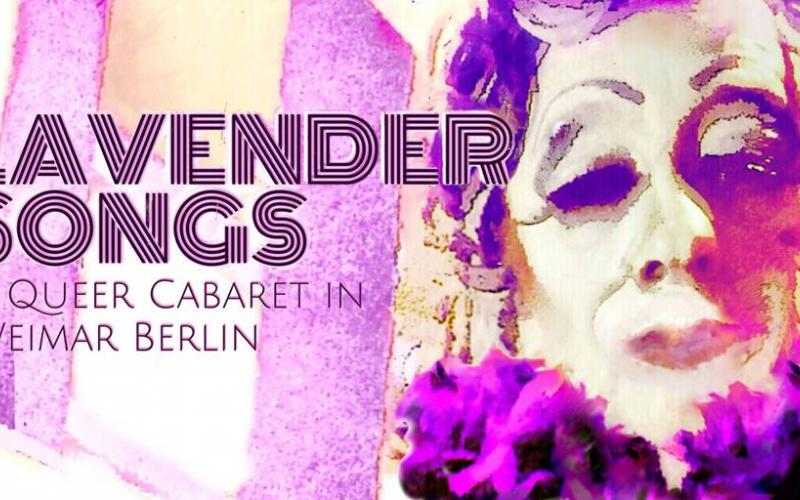 photo of Weimar cabaret 'Lavender Songs'